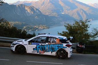 Paolo Porro, Paolo Cargnelutti (Hyundai R5 #19, Bluthunder), COPPA RALLY DI ZONA