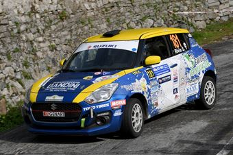 Simone Rivia, Martina Musiari (Suzuki Swift R1 #181, Novara Corse), COPPA RALLY DI ZONA