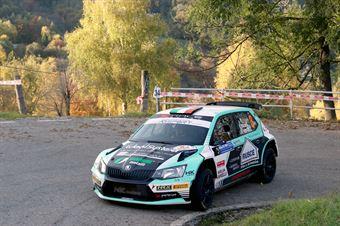 Antonio Rusce, Sauro Farnocchia (Skoda Fabia R5 #3, X Race Sport), COPPA RALLY DI ZONA