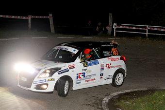 Andrea Scalzotto, Daniele Cazzador (Suzuki Swift R1 #185, Funny Team), COPPA RALLY DI ZONA