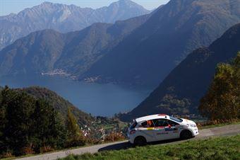 Sandro Schenetti, Alberto Corradi (Peugeot 208 R2#76, Rally Team), COPPA RALLY DI ZONA
