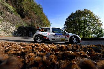 Roberto Vescovi, Giancarla Guzzi (Renault Clio S1600 #43, GR Motorsport), COPPA RALLY DI ZONA
