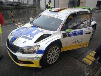 D'Alto Liburdi (Skoda Fabia R5 #9, Casarano Rally Team), COPPA RALLY DI ZONA