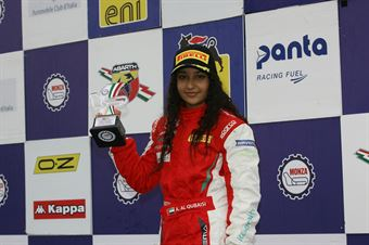 Gara 1 al Amna Al Qubaisi (Abu Dhabi Racing,Tatuus F.4 T014 Abarth #88), ITALIAN F.4 CHAMPIONSHIP POWERED BY ABARTH