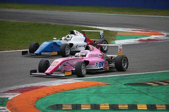 Joshua Durksen (BWT Mucke Motorsport,Tatuus F.4 T014 Abarth #26)Michael Belov (Bhaitech Srl,Tatuus F.4 T014 Abarth #57), ITALIAN F.4 CHAMPIONSHIP POWERED BY ABARTH
