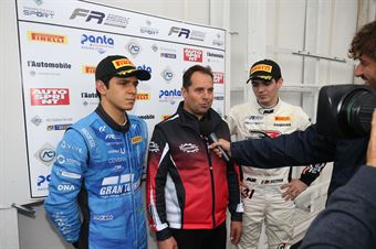 Igor Fraga (DR Formula,F3 Tatuus 318 A.R. #17)Raul Guzman (DR Formula,F3 Tatuus 318 A.R. #41), FORMULA REGIONAL EUROPEAN CHAMPIONSHIP