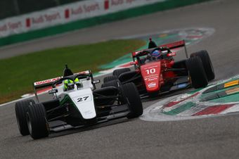 David Schumacher (US Racing,F3 Tatuus 318 A.R.#27)Konsta Lappalainen (Kic Motorsport,F3 Tatuus 318 A.R. #10), FORMULA REGIONAL EUROPEAN CHAMPIONSHIP