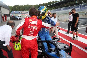 Igor Fraga (DR Formula,F3 Tatuus 318 A.R. #17) Enzo Fittipaldi (Prema Powerteam,F3 Tatuus 318 A.R. #74), FORMULA REGIONAL EUROPEAN CHAMPIONSHIP