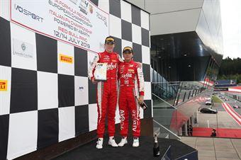 Frederik Vesti  (Prema Powerteam,F3 Tatuus 318 A.R. #2) Enzo Fittipaldi (Prema Powerteam,F3 Tatuus 318 A.R. #74), FORMULA REGIONAL EUROPEAN CHAMPIONSHIP