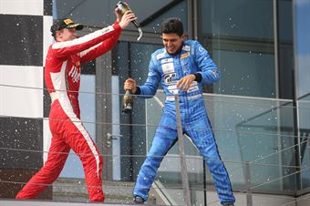 Igor Fraga (DR Formula,F3 Tatuus 318 A.R. #17) Frederik Vesti  (Prema Powerteam,F3 Tatuus 318 A.R. #2), FORMULA REGIONAL EUROPEAN CHAMPIONSHIP