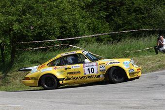 Bertinotti Marco,Rondi Andrea(Porsche 911 rsr,Rally &co,#10), CAMPIONATO ITALIANO RALLY AUTO STORICHE