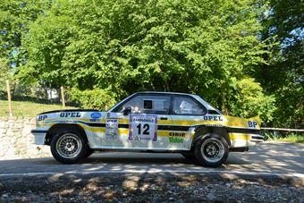 Nerobutto Tiziano,Nerobutto Francesca(Opel Ascona 400,Team Bassano,#12), CAMPIONATO ITALIANO RALLY AUTO STORICHE