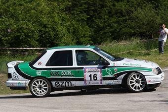 Bianco Riccardo,Budoia Andrea(Ford Sierra,Scuderia Palladio Historic,#16), CAMPIONATO ITALIANO RALLY AUTO STORICHE