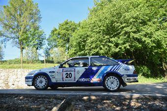 Gibello Andrea,Pontarollo Lorenzo(Ford Sierra,Biella Motor Team,#20), CAMPIONATO ITALIANO RALLY AUTO STORICHE