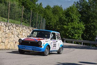 Scalabrin Raffaele,Paganoni Giulia(A112 Abarth,Team Bassano,#202), CAMPIONATO ITALIANO RALLY AUTO STORICHE