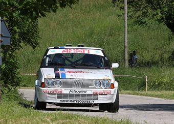 Luise Matteo,Ferro Melissa(Fiat Ritmo 130 Abarth,Team Bassano,#27), CAMPIONATO ITALIANO RALLY AUTO STORICHE