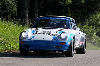 Da Zanche LucioUghetti Corrado(Porsche 911 sc,Rally Club Team,#3), CAMPIONATO ITALIANO RALLY AUTO STORICHE