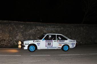 Vicario Dino,Frasson Marina(Ford Escort Rs,Rally & co,#32), CAMPIONATO ITALIANO RALLY AUTO STORICHE