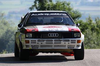 Zippo,Ceschino Fabio(Audi Quattro,#9), CAMPIONATO ITALIANO RALLY AUTO STORICHE