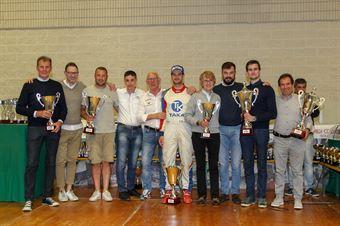Premiazioni podio assoluto, CAMPIONATO ITALIANO RALLY AUTO STORICHE