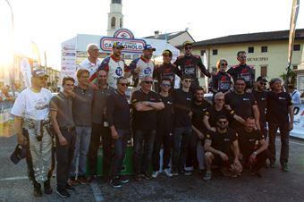 Podio di gruppo, CAMPIONATO ITALIANO RALLY AUTO STORICHE