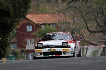 Patuzzo Nicola,Martini Alberto(Toyota Celica GTfour,Team Bassano,#10), CAMPIONATO ITALIANO RALLY AUTO STORICHE