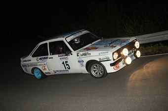 Vicario Dino,Frasson Marina(Ford Escort Rs,Rally&co,#15), CAMPIONATO ITALIANO RALLY AUTO STORICHE