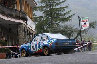 Anziliero Valter,Berra Anna(Ford Escort Rs,#16), CAMPIONATO ITALIANO RALLY AUTO STORICHE