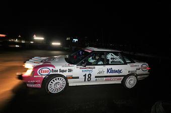 Martinetti Angelo,Gordon Fabrice(Subaru Legacy,#18), CAMPIONATO ITALIANO RALLY AUTO STORICHE