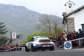 Da Zanche Lucio,De Luis Daniele(Porsche 911 Sc,Rally Club Team,#1), CAMPIONATO ITALIANO RALLY AUTO STORICHE