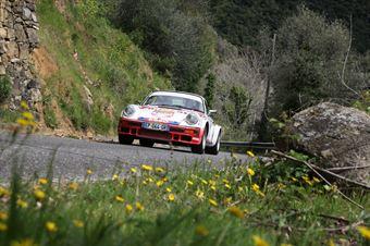 Schewe Heinz Walter,Blondeel Frank(Porsche 911 Sc,Autostal Atlantic,#21), CAMPIONATO ITALIANO RALLY AUTO STORICHE