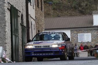 Valente Edoardo,Revenu Jeanne Francoise(Subaru Legacy,Team Bassano,#22), CAMPIONATO ITALIANO RALLY AUTO STORICHE