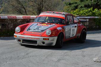 Acconciaioco Mirko,Brea roberto(Porsche 911 rs,Scuderia dei Rododendri,#23), CAMPIONATO ITALIANO RALLY AUTO STORICHE