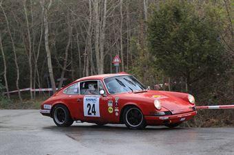 Parisi Antoni,D Angelo Giuseppe((Porsche 911 S,Scuderia dei Rododendri,#24), CAMPIONATO ITALIANO RALLY AUTO STORICHE
