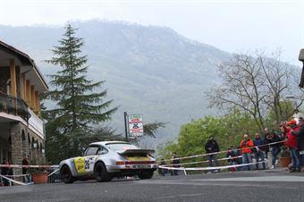 Sordi Ermanno,Biglieri Cludio(Porsche 911Scrs,Team Bassano,#26), CAMPIONATO ITALIANO RALLY AUTO STORICHE