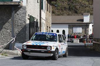 Amerio Roberto,Piovano Enrico(Volskwagen Golf Gti,#27), CAMPIONATO ITALIANO RALLY AUTO STORICHE