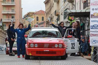 Soave Fiorenza,Blanco Malerba Ornella(Fiat Ritmo 130 tc,Rally Club Team,#32), CAMPIONATO ITALIANO RALLY AUTO STORICHE