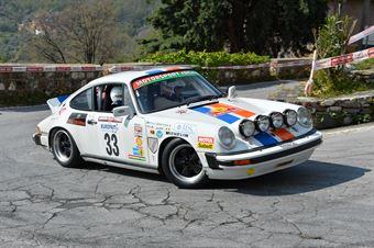 Valle Luca,Bertoglio Cristiana(Porsche 911sc,#33), CAMPIONATO ITALIANO RALLY AUTO STORICHE