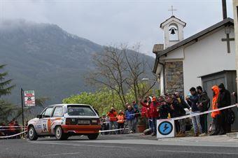 Olivieri Massimo,Camera Simona(Opel Corsa Gsi,La Superba,#34), CAMPIONATO ITALIANO RALLY AUTO STORICHE