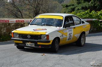 Ontano Agostino,Ontano Lorenzo(Opel Kadet Gte,#35), CAMPIONATO ITALIANO RALLY AUTO STORICHE