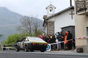 Perlino Silvio,Giuliano Serena(Opel Kadet Gte,#37), CAMPIONATO ITALIANO RALLY AUTO STORICHE