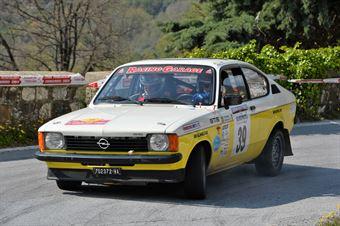 Tricomi Nicola,Genovese Roberto(Opel Kadet Gte,Team Bassano,#39), CAMPIONATO ITALIANO RALLY AUTO STORICHE