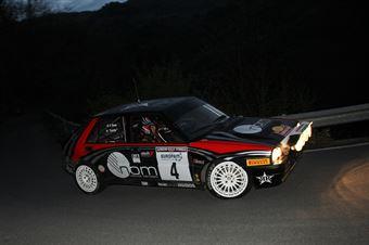 Lucky,Pons Fabrizia(Lancia Delta Integrale,Kei Sport Engineering,#4), CAMPIONATO ITALIANO RALLY AUTO STORICHE