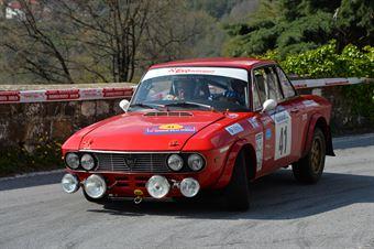Vaccani Fabrizio,Rapeti Walter(Lancia Fulvia Coupe,Team Bassano,#41), CAMPIONATO ITALIANO RALLY AUTO STORICHE