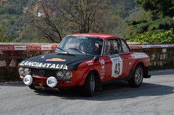 Gabbiani Dino,Siri Melita(Lancia Fulvia Coupe,Xrt Scuderia,#43), CAMPIONATO ITALIANO RALLY AUTO STORICHE