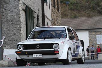 Manetti Marco,Bianco Francesetti Silvia(Volkswagen Golf,Scuderia Biella Corse,#44), CAMPIONATO ITALIANO RALLY AUTO STORICHE