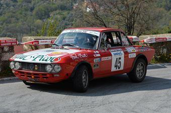 Espen Francesco,Canale Anna(Lancia Fulvia coupe,#45), CAMPIONATO ITALIANO RALLY AUTO STORICHE