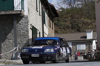 Bova Luca,Radosta Jessica(Peugeot 309 Gti,Turismotor's,#47), CAMPIONATO ITALIANO RALLY AUTO STORICHE