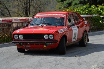 Tallone Claudio,Bruno Giordano(Fiat 128 Coupe,#49), CAMPIONATO ITALIANO RALLY AUTO STORICHE