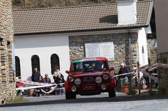 Pennisi Rosario,Bregliasco Angelo(Autobianchi A112 Abarth,Team Bassano,#51), CAMPIONATO ITALIANO RALLY AUTO STORICHE